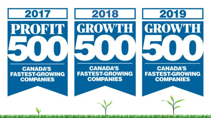 Green Standards Ranks On Growth 500 List For 3rd Straight Year