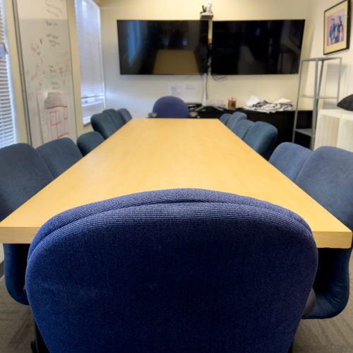 Tahirih Justice Center Receives New Ergonomic Chairs To Transform Their Boardroom And Make A More Comfortable Space For Staff And Clients To Meet.